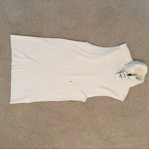 Express sleeveless turtleneck